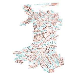 Literary Map of Wales